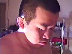Asian gay bear - Bullvideo www.bearmongol.com