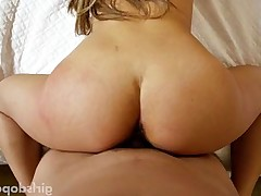 Fantastic Asian bitch sucks big cock like a pro