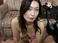 Subtitled Japanese gravure model hopeful POV..