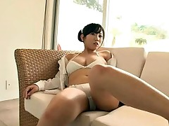 beautiful Asian - alone