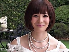 Fuck Busty asian Airi Miyazaki in dress