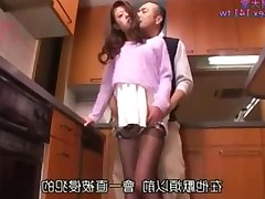 old Massage interracial office housewife