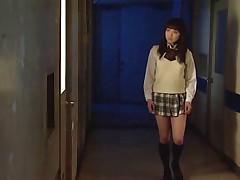 Subtitled HD Japanese schoolgirl spies lesbian..