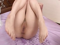Petite asian amateur squirts a lot then she..
