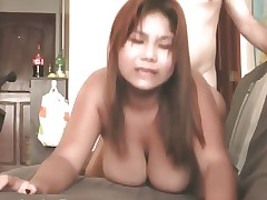 A Fresh load for Her Wet Asian Pussy