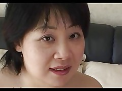 44yr old Chubby Busty Japanese Mom Craves Cum..