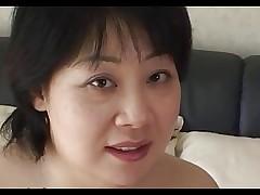 44yr old Chubby Busty Japanese Mom Craves Cum..