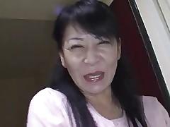 49yr old Granny Maki Shikano gets Creamed..