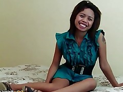 A damn fine busty Filipina doll