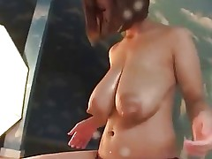 Japanese huge milky tits