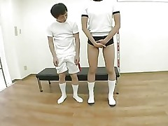 tall woman and  short man(censored)