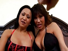 Ava Devine & Kitty Langdong