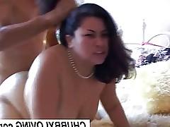 Beautiful big tits asian BBW Tyung is a hot fuck