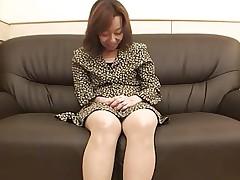 47yr old Hairy Kiyoko Tachibana gets Creamed..