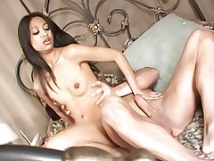 Asian Kina Kai gives her candy