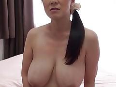 Busty MILF Mio Sasakawa creampied
