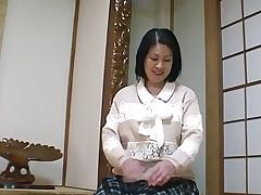 52yr old Granny Toyomi Furui gets Creamed..
