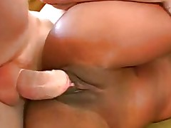 Slim Black Teen With Big Ass Likes White Cock