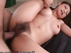 Japanese babe fucked - UNCENSORED