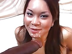 Hot Asian Girl fuck Biggest Black Cock