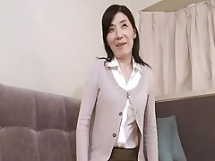 Sensative Nippled Japanese Milf Fucked And Cream..