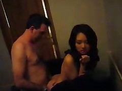 Asian amateur threesome