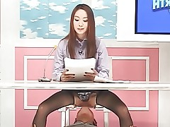 Announcer's Pussy Licking
