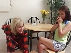 Mom Seduces Asian girl
