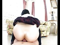 Japanese Woman Ass Job (UNCENSORED)