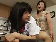 futanari mother and NOT her daughter