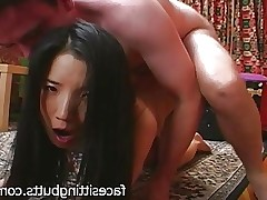 What a nasty little Asian fuck doll