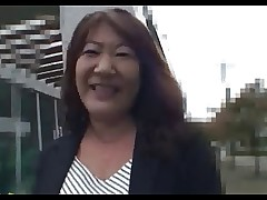 52yo Hairy Japanese Granny Michiko Okawa Pt. 1..