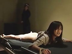 Japanese tied and whipped in prison
