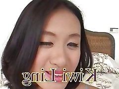 Beautiful hot  asian Kiwi Ling fuck 2  blacks