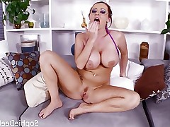 British big tit slut Sophie Dee wants asian cock!