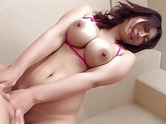 Big Nipple Asian Milf