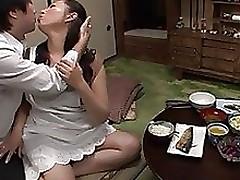 Aya Kitagawa raunchy Eastern mellow housewife..