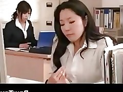 There Is A Sex tool In The Office