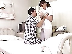 Nurse in Hospital not in condition resist..