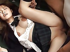 Japanese Schoolgirl Yayoi Yoshino penetrated in..