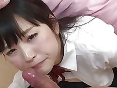 Schoolgirl Tsuna Kimura