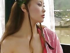 Japanese Wind Dance Concubine